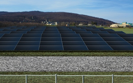 solar power plant, Emmitsburg, Maryland, Constellation