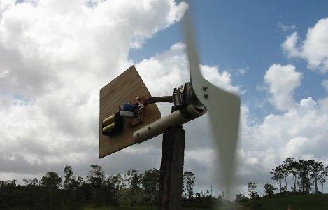 Mini Mill, DIY, Wind Power