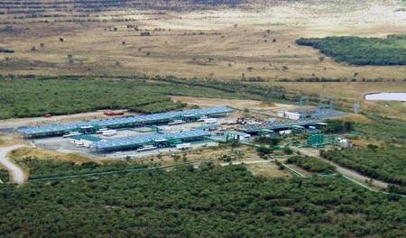 geothermal power in Kenya, Ormat