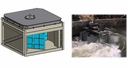 micro hydro-turbine Sundermann Water Power