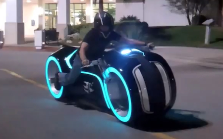 Tron, Electric Motorcycle, Electric Vehicles, Parker Brothers Choppers