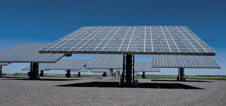 Amonix concentrated solar power