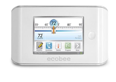 Ecobee Home Energy Management app