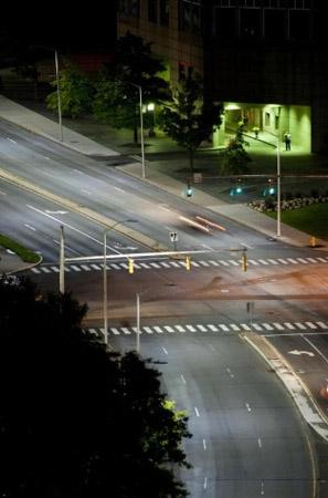 Stamford streetlights