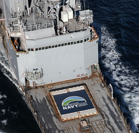 Navy biofuel test