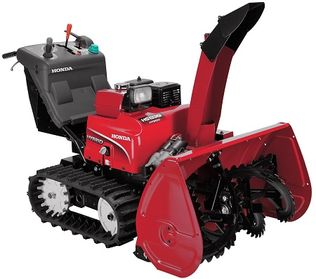 hybrid snowblower, honda
