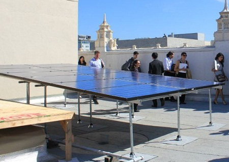 Occupy Rooftops, Solar Mosaic