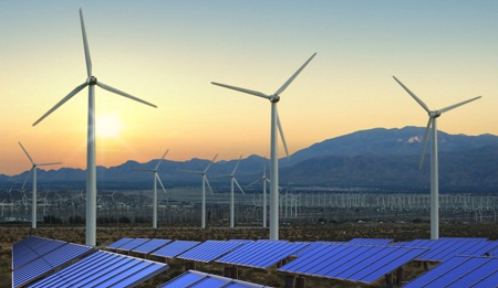 alternative energy support, Pew survey
