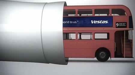 Vestas 7 megawatt turbine