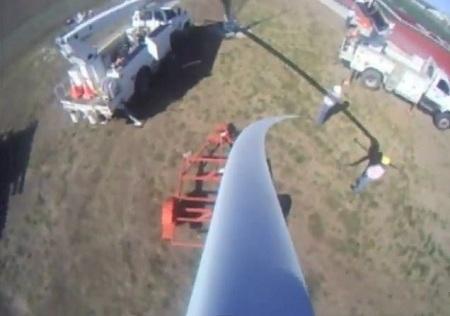 turbine raising, Eudora High School