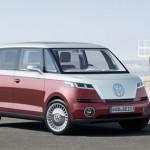 Geneva Auto Show: VW Bulli Electric Van