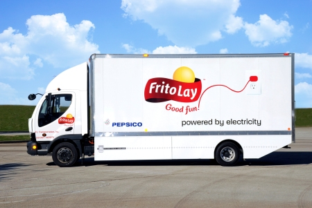 Frito-Lay Electric Truck