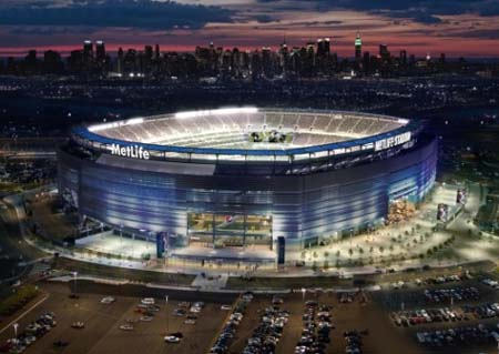 MetLife Stadium Solar Ring