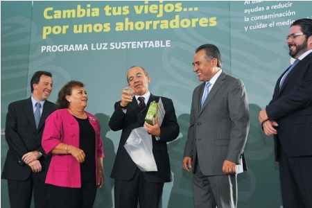 Mexican President Felipe Calderon