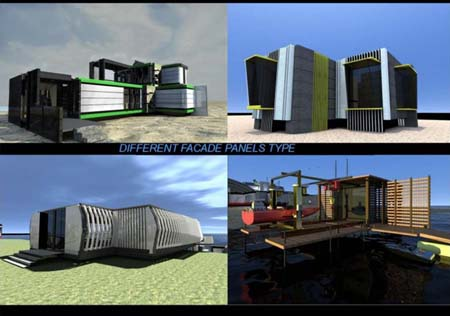 Mobile Life Container Multifunction Modules