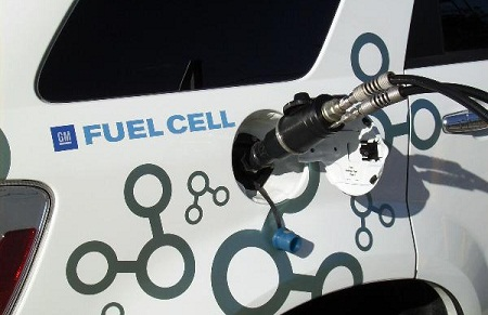 hydrogen storage for electric vehicles