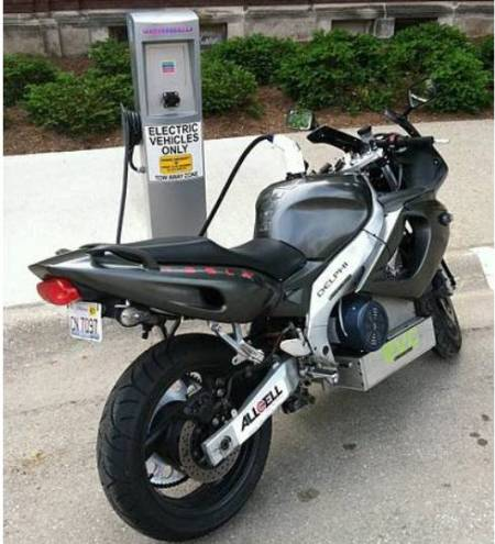AllCell Electric Motorcycle
