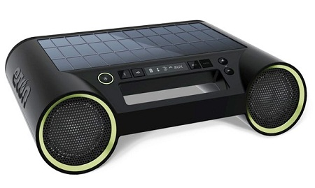 Rukus Solar music player