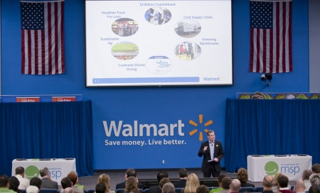 Walmart Sustainability Meeting