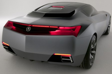 acura-nsx+rear+view