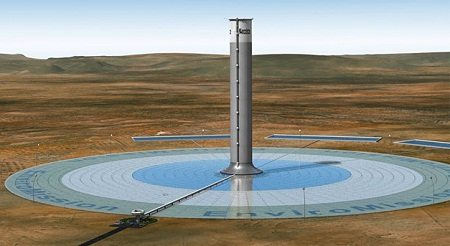 EnviroMission solar tower