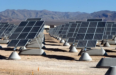 solar on military bases