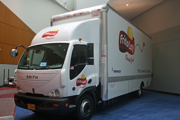 Frito Lay Electric Delivery Truck Earthtechling