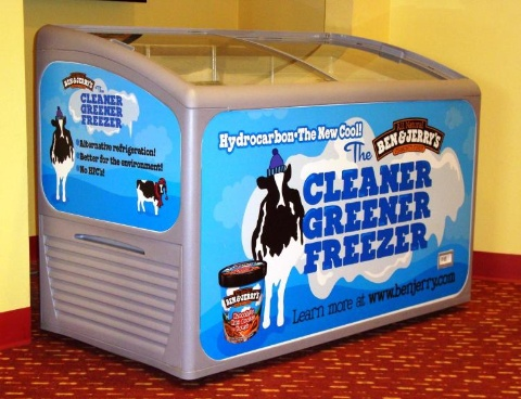 Ben & Jerry's Greener Freezer