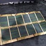 U.S. Army personal solar power system