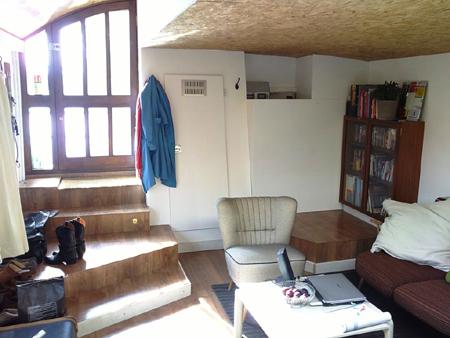 bauhaus living room