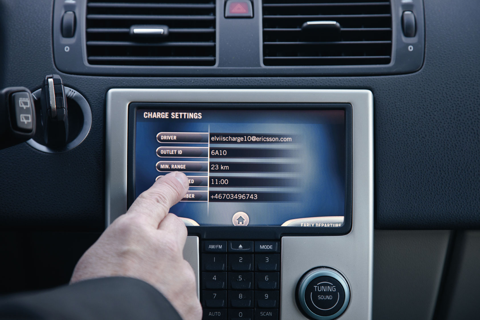 Electric Vehicle Consumer Settings