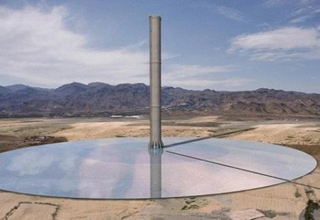 solar tower, australia,hyperion