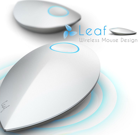 Leaf Wireless Kinetic Mouse