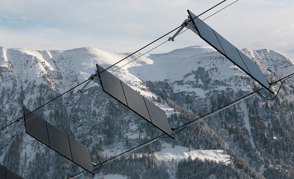 Solar ski lift