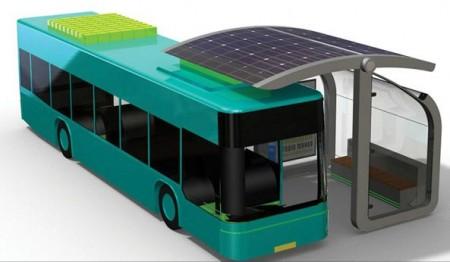 Solar Curve Bus Stop