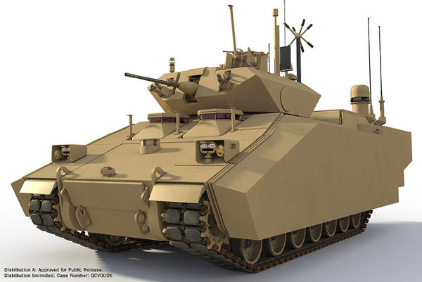 BAE hybrid Ground Combat Vehicle