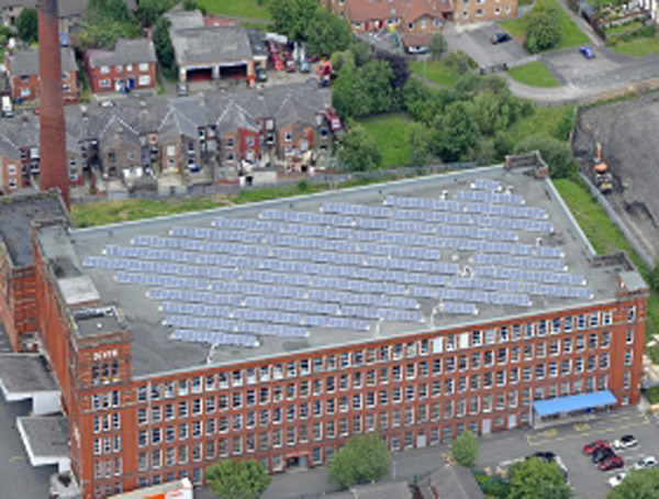 Devon Mill solar installation