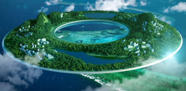 Heaven and Earth Floating City