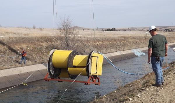 hydrovolts canal turbine roza canal yakima