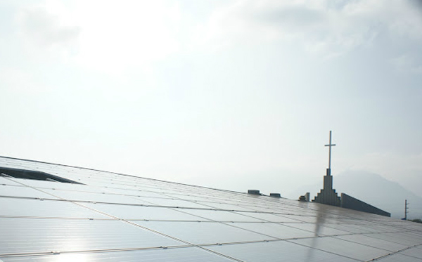 King's Cathedral solar installation