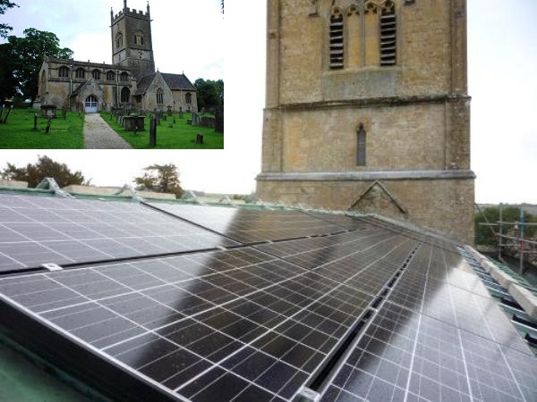 Kyocera Solar on St. Michael and All Angels Church