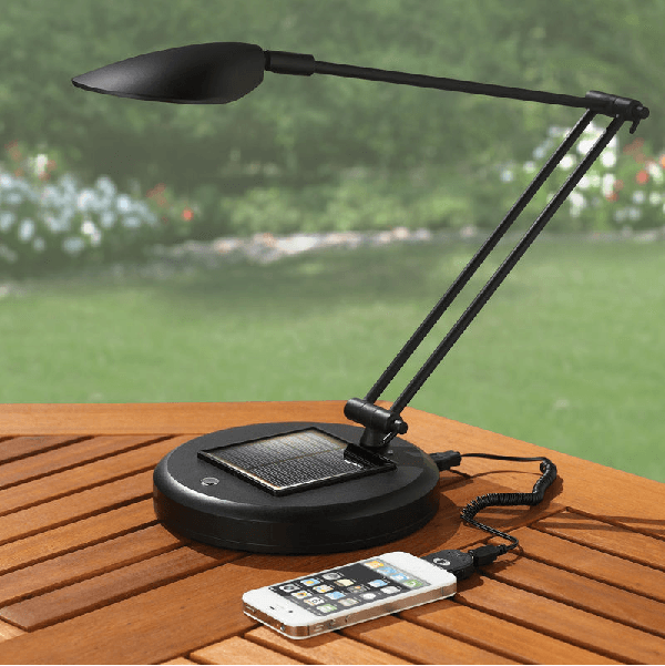 Solar Rechargeable Reading Lamp