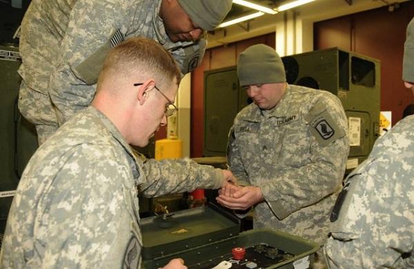 army solar power training