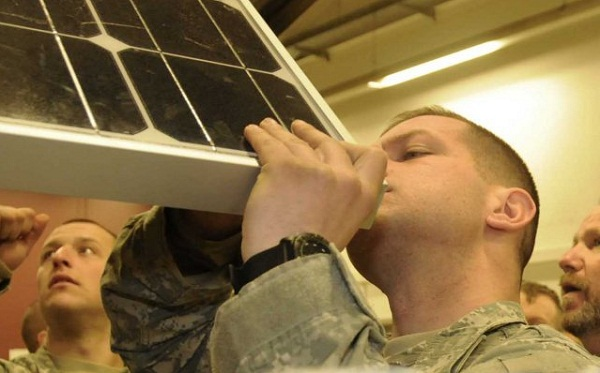 army solar power training