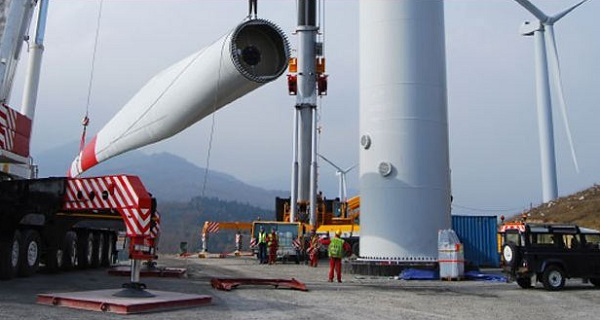 wind power scotland burcote