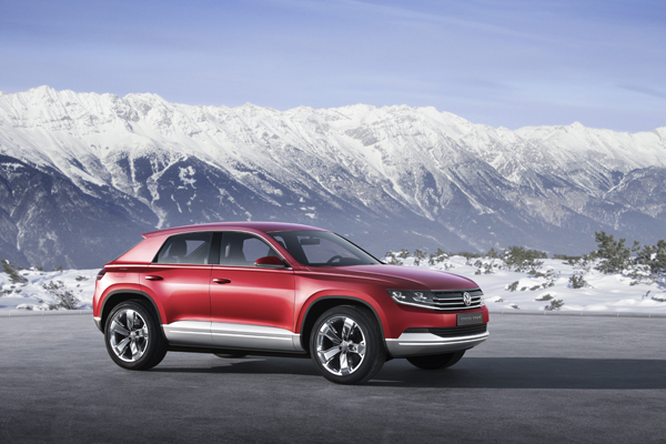 VW Cross Coupe - image via VW