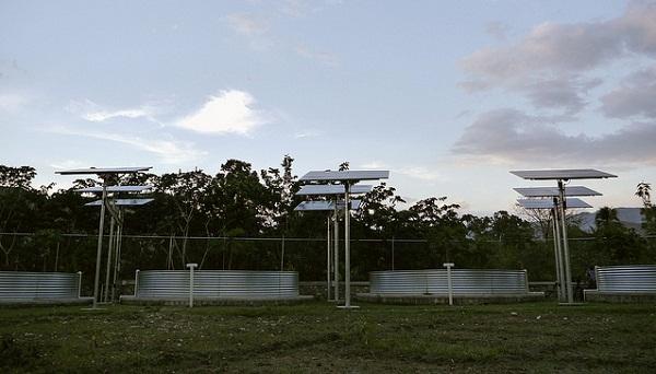 haiti solar NRG Clinton