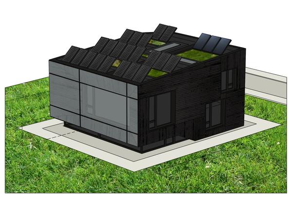 Lozen Passive Solar House