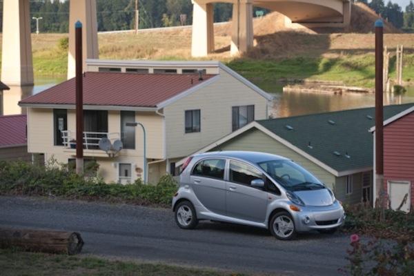mitsubishi charging station