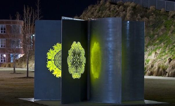 Seed Pod Solar Sculpture